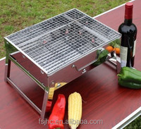 JHC charcoal foldable bbq grill/High quality barbeque/folding charcoal bbq grill