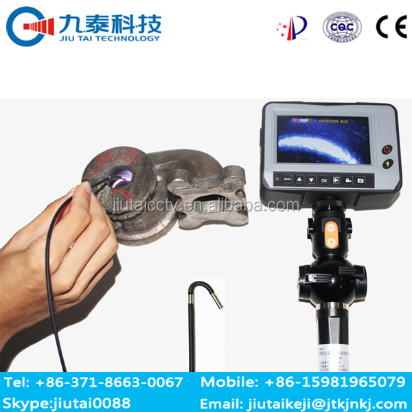 GT- 120B 4 way articulation portable borescope endoscope camera for sewer and pipeline
