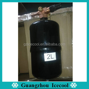 6L Vertical Type Refrigerant Liquid Receiver for Refrigeration Condensing Unit