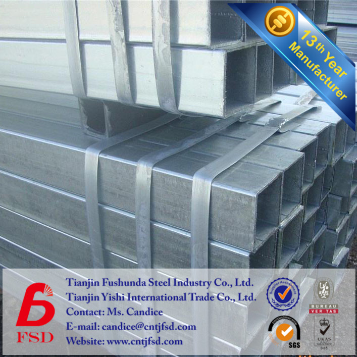 building materials 250g 25mm*25mm square tube carbon steel tube
