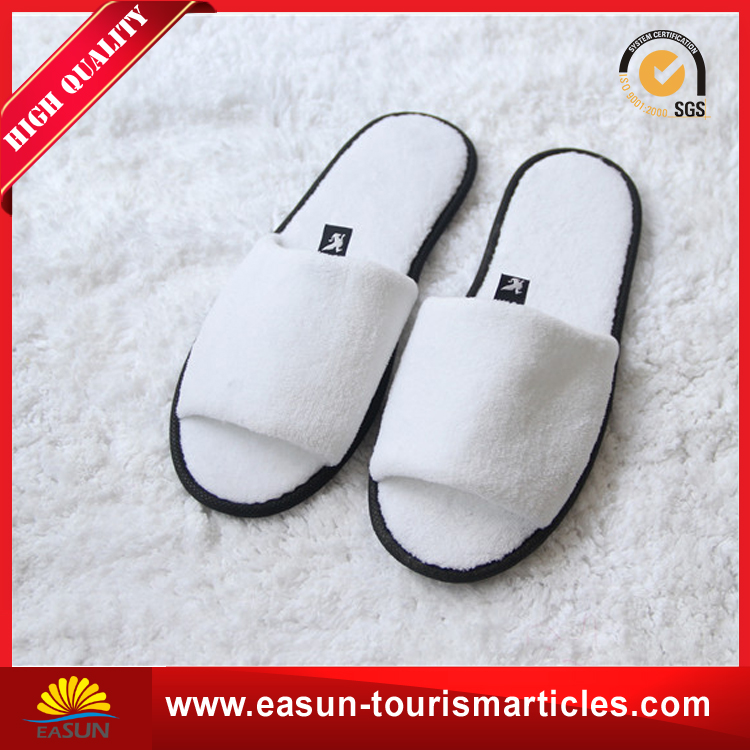Cheap custom disposable printed airline slipper eva