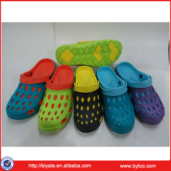 Promotional beach eva chef shoes clogs