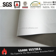 FR 3 pass blackout lining curtain fabric
