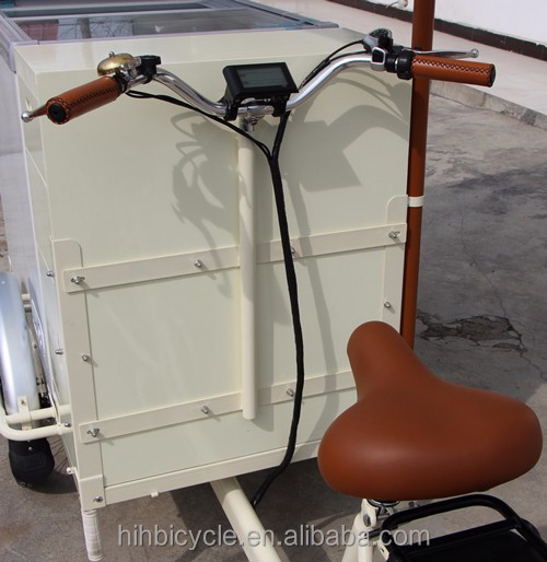 Hot sale ice cream coffee cargo bike with single speed/reverse trike/three wheel bicycle for adults