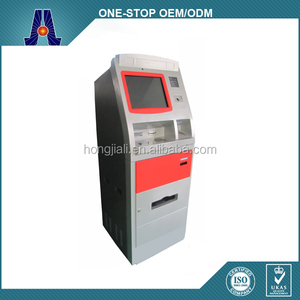free standing cash dispenser payment kiosk automatic machine (HJL-6001B)
