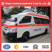 Japan 4x2 2WD ICU Ambulance Car Price/Emergency Response Vehicle For Sale In China