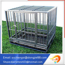 Hot-dipped galvanized cage/welded wire mesh Dog Cage/ dog run fence
