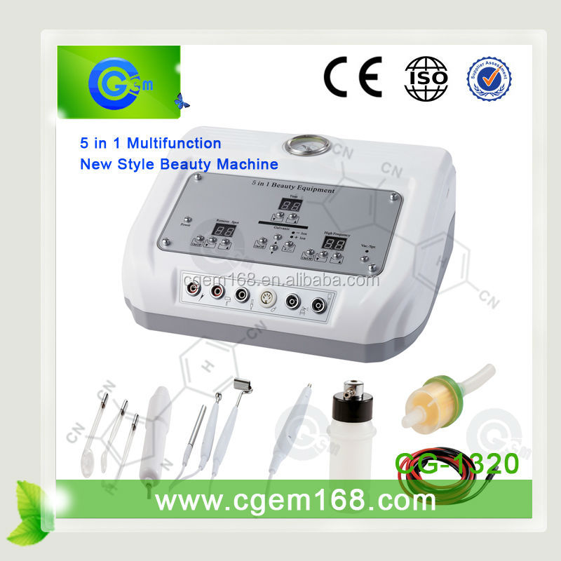 CG-1320 Rush to purchase! 5 in 1 electrocoagulation electrica for Wrinkle Removal and Skin Tightening
