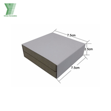 ECO-Friendly Wholesale jewelry box stamping customize logo with clear window,paper window box