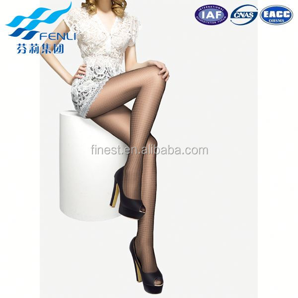 Modern style OEM quality young girls printed pantyhose directly sale