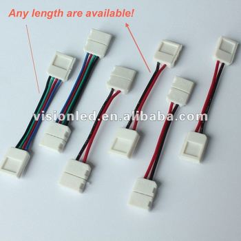 ww cw pw rgb led strip light wire connector view rgb led strip rh visionled en alibaba com