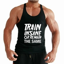 Printing your logo custom men singlet gym stringer vest