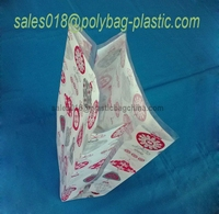 Christmas gift plastic bag / candy bags christmas/hot stamping christmas decoration pp gift bag