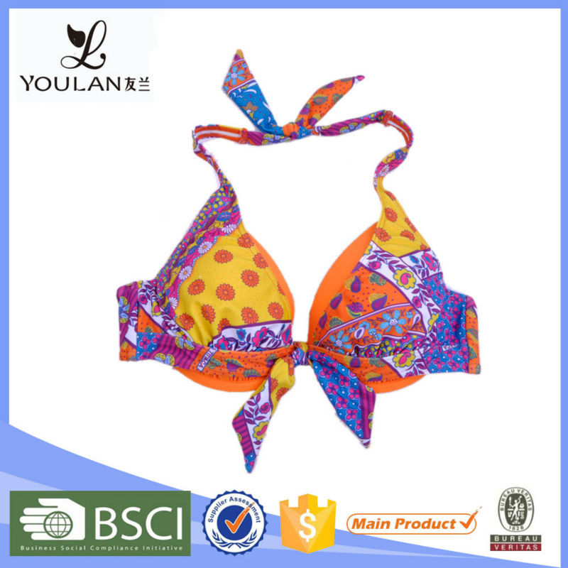 Latest Mature Halter Bra Bikini Models For Women