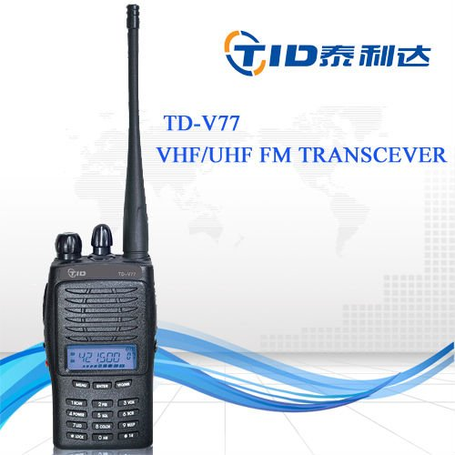 TD-V77 High power TOT radio handheld wide band receiver