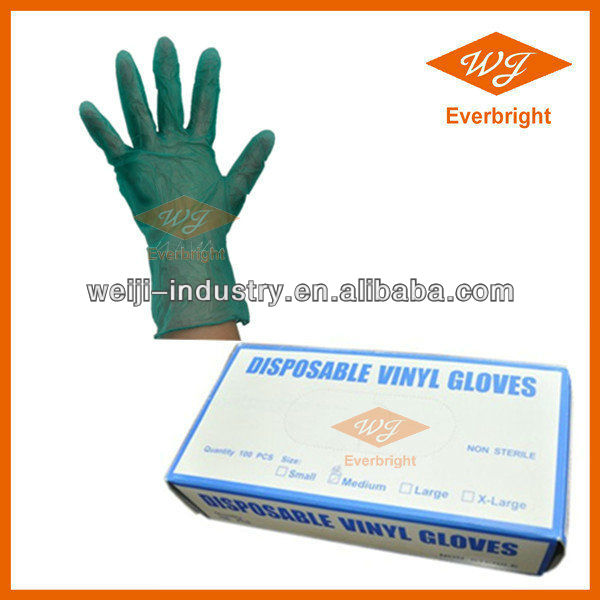 Vinyl Gloves Factory Supply Good Quality Food Grade Vinyl Gloves