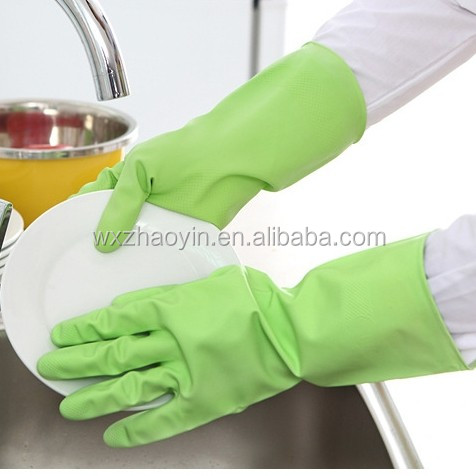Cheap rubber latex gloves kitchen gloves