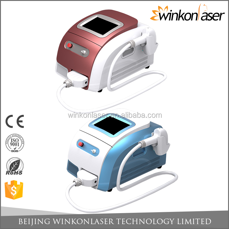 2016 hot sales ! CE approval 808nm diode laser hair removal / hot wax machine hair removal
