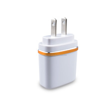 Free Sample Wall Mounted USB Travel Charger 5V 2A USB Adapter with EU US Plug