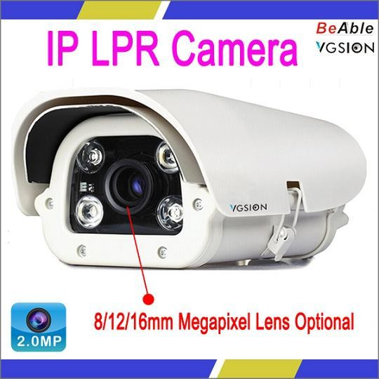 CMOS Image Sensor 2.0 Megapixel For Indoor and Outdoor Use Waterproof IP LPR Camera