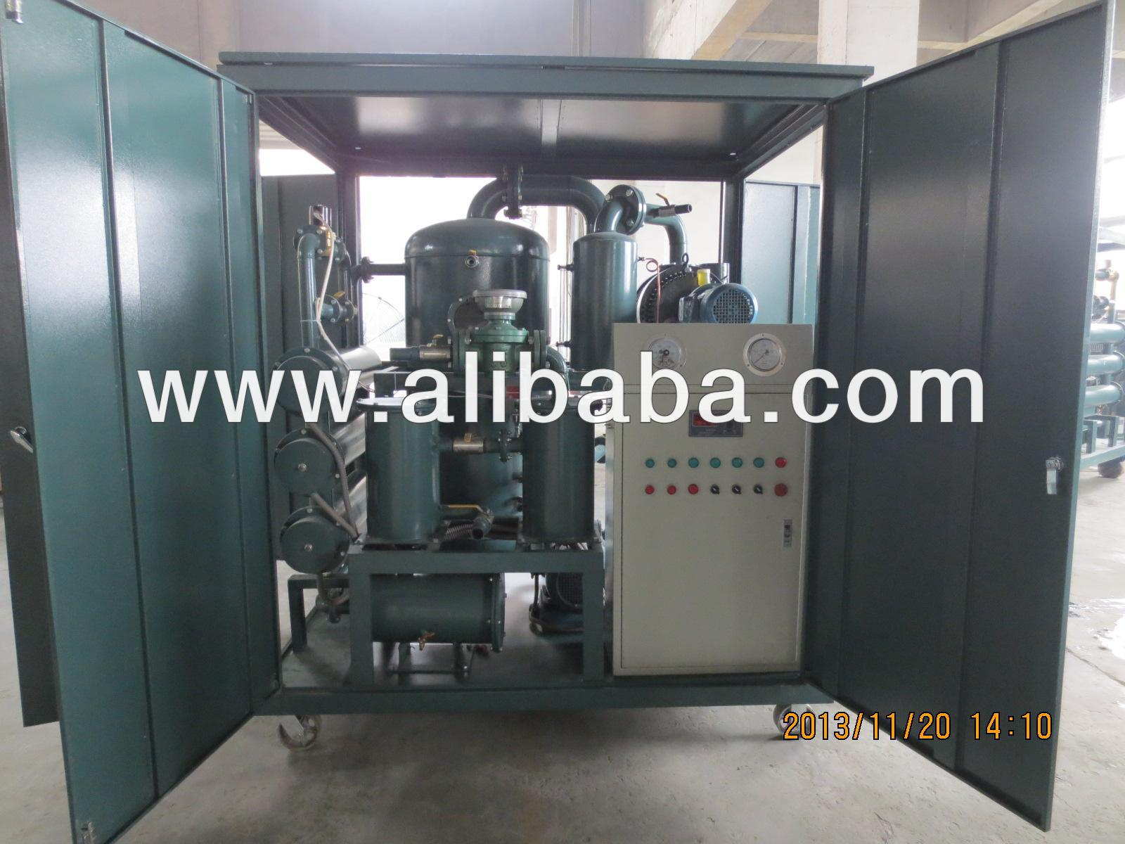 Weather-Proof Enclosure High Vacuum Transformer Oil Filtration Plant