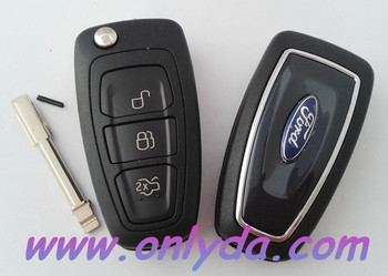 remote key--Ford focus/modeo flip 3 button remote key blank