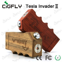 e cigarette tesla invader 2 high quality tesla invader II box mod by Cigfly in stock