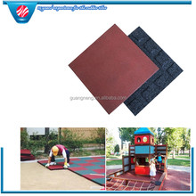 outdoor recycled rubber patio brick pavers
