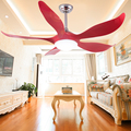 Modern Crystal 5 Blades Electric Power Remote Control Cooling Air Ceiling Fan With Led Lights