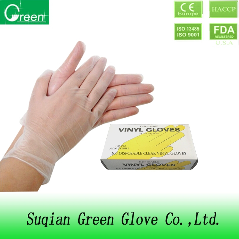 medical disposable pvc gloves