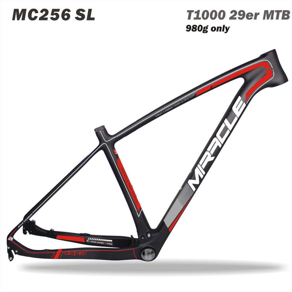 Toray t1000 Miracle 2017 new Carbon Fiber Mountain Bike Frame, MTB Bikes Carbon MTB Bike Frame