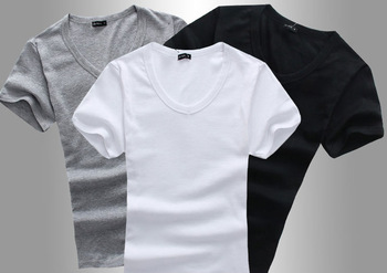 100 cotton plain t shirt stock lot bulk wholesale clothing for White t shirt bulk buy