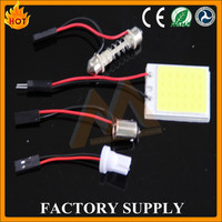 High quality 12V Car auto Lamp COB PCB led dome light