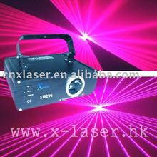 Night club violet color 200mw rays laser show system