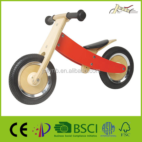 "10"" Wood Wheel Dupplex Wooden Bike"