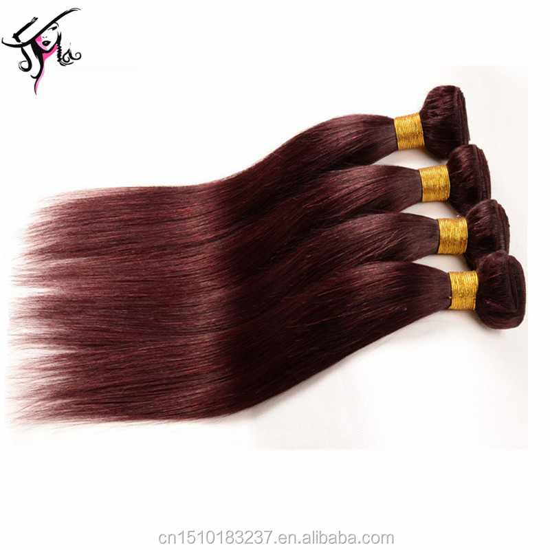 human hair extensions tape in burgundy red wine virgin indian hair front lace wig remy human hair extensions double weft