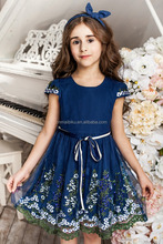 Professional customized birthday party dress clothing for little baby girl