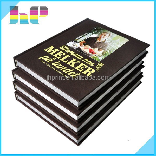 Cheap high-quality custom full color cloth hardcover book print in Shenzhen