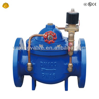 normally closed electric solenoid globe valve for masoneilan