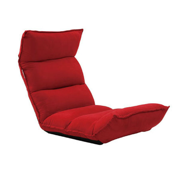 Red Mordern Folding Lazy Sofa Chair In Living Room Furniture And Floor Seatin