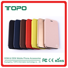 Wallet Magnetic Buckle Foldable Stand TPU+PU Leather Phone Case Cover for iphone 6 6s plus
