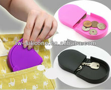 small silicone change box money box siliocne case with convenience