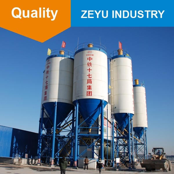 New arrival horizontal mobile cement silo with silo design code