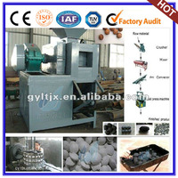 coconut shell charcoal briquette machine with pillow/stick/tablet/ball shaped