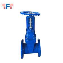 Soft seal bright stem rubber gate valve