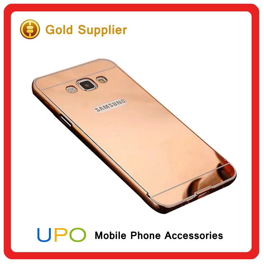 [UPO] Hot Sale Stylish Metal Aluminum Bumper Mirror Mobile Phone Case Cover For Sony Xperia Z5