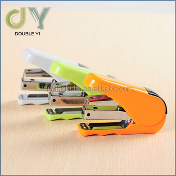 Custom/wholesale mini design for office and school stapler mini / funny stapler