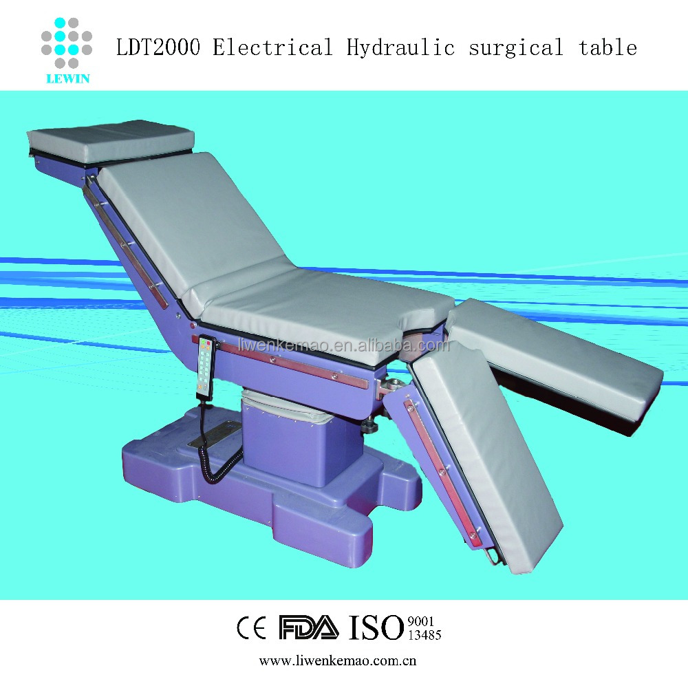 high quality Universal cheapest surgical operation ot table