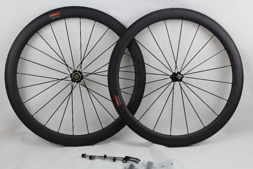 2015 New Arrival ffwd 700C clincher carbon fiber wheelset Chinese bike wheels high-profile carbon wheels