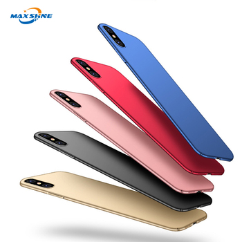 Wholesale Shockproof Design Matte Hard Pc Material Cell Phone Case For Iphone 7 8 Plus X Xr Xs Max Case